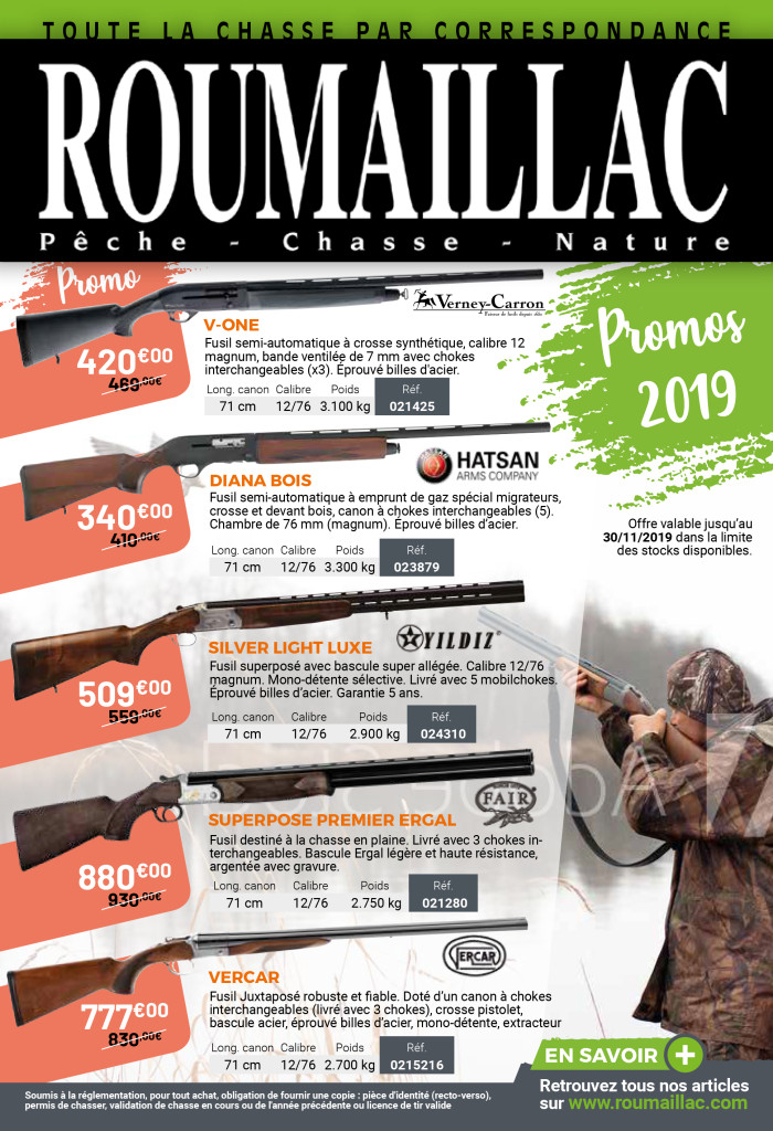 Promos 2019 Roumaillac